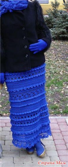 """Юбка """"Пагода"""" от Ванессы Монторо (Дополнена схемами и порядком вывязывания к платью Оливия от Тони - Tonic) - Вяжем вместе он-лайн - Страна Мам"""