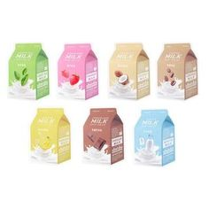 Buy A'PIEU Milk One Pack 1pc (7 Flavors) at YesStyle.com! Quality products at remarkable prices. FREE Worldwide Shipping available!