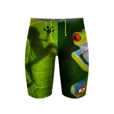 Frog Jammer. Caution: this suit will not help you win the breaststroke.  #qswimwear #swimsuit