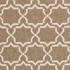 Poolside Brown/ Bone Indoor Outdoor Rug (8' x 11'2)