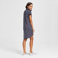 Women's Shirt Dress - Merona Navy (Blue) Xxl