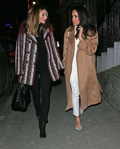 Olivia Palermo and Meghan Markle..