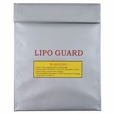 1Pc Fireproof RC LiPo Battery Safety Bag Safe Guard Charge Sack 230x300mm Hot Selling //Price: $US $4.65 & FREE Shipping //     #toys