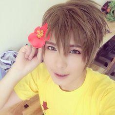 say hello to Mako-chan!  Tachibana Makoto's cosplayer by Baozi