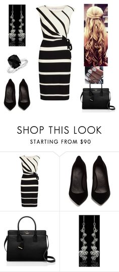 """WorkWear"" by paoladouka on Polyvore featuring Gina Bacconi, Maison Margiela, Kate Spade and Blue Nile"