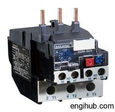 "Electric Motor failed due to excessive current.To protect electric motor from excessive current an ""Overload Protection Relay"" is used circuit."
