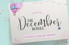 Bilderesultat for brush letter december