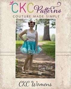 CKC Patterns: PATSY'S PETTICOAT TWEENS, WOMEN'S, AND PLUS SIZES PDF PATTERN