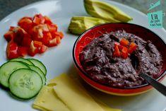 Zwarte bonen hummus - Uit de pan van San