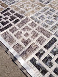 Urban Quiltworks: Modern straight line quilting