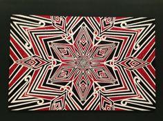 The National Gallery of Victoria has recently acquired Reuben Paterson's A Crucifixion. Maori Designs, Maori Art, Aboriginal Art, Mandala Design, Artist Art, Art Google, Art Forms, Celtic, Design Art