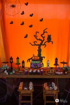 Decoração: tema de festa infantil halloween