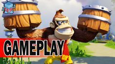Skylanders SuperChargers Turbo Charge Donkey Kong Gameplay E3 2015