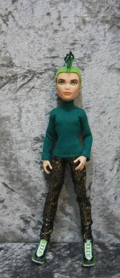 Turtleneck and jeans for monster high boys by moonsight68 on Etsy, $9.50