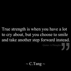 """I have cried every single day for so long, telling myself I have the strength. Most days, I've barely made it through. I've faked smiles, put on the pretend """"it's all good"""" just to make others feel comfortable. Today, I feel better, but I know it's always there - lurking like the predator that it is; waiting for my next vulnerable moment to pounce and devour me...another attempt to take me out of the game for good."""