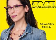 BEVEL, expressing design aesthetics in eyewear.