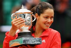 Ana Ivanovic won the 2008 French Open in style wearing this beautiful adidas coral ensemble