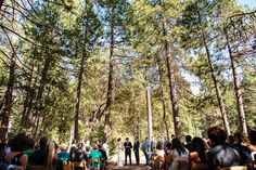 Nature's Beauty Combined with Fine Details Makes a Perfect Wedding at Yosemite's Evergreen Lodge | Fab You Bliss