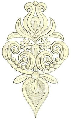 9.40 x 5.43 Inch Applique Embroidery Design