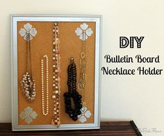 DIY Jewelry Organizer Cute and Easy WhatsUpMoms YouTube