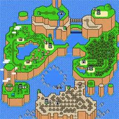 here are some Mario memories from the past.