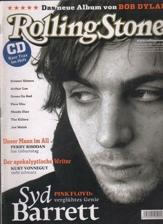 Rolling Stone 2006 09 Syd Barrett Joe Walsh Scissor Sisters Rolling Stones |Click the image to join the Laughing Madcaps Syd Barrett Group, now on FacebooK! The original! Around since 1998!