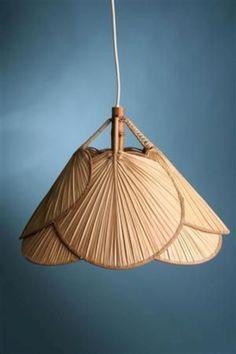 Home diy lamp light shades Ideas Unique Lighting, Lighting Design, Lighting Ideas, Boho Lighting, Bedroom Lighting, Ceiling Lighting, Tropical Pendant Lighting, Asian Lighting, Asian Lamps