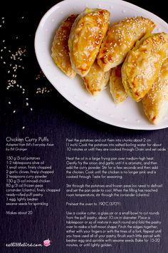 Chicken Curry Puffs — eat, little bird