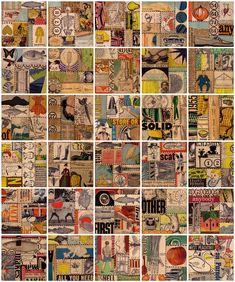 Suzanna Scott - Collage panels