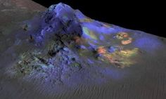 Martian glass: Window into possible past life