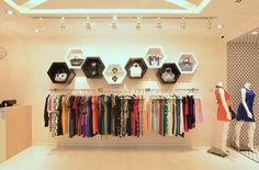 project fashion butique 4 Feminine and Enveloping: Fashion Boutique in Singapore by KNQ Associates