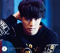 Lay - 161027 'Coming Over' teaser image Credit: Official EXO Japan website.