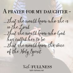 Im Sharing My Daily Prayer For Daughter I Believe If We Pray