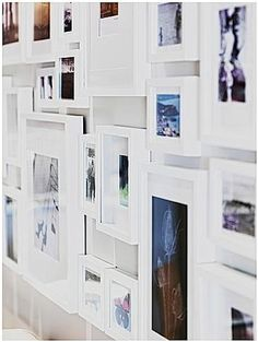 A nice post on gallery-style picture frames