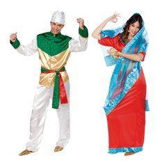 Costumes pour couples Hindoux Bollywood #déguisementscouples