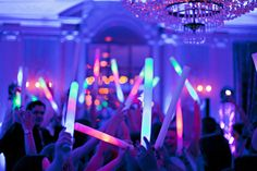 Best Free of Charge 51 Trendy Wedding Reception Dance Floor Glow Sticks Style In the many decades, we've spent on the dance floors of the earth, we've skilled some scenario Wedding Send Off, Wedding Dj, Trendy Wedding, Wedding Ideas, Wedding Bells, Wedding Inspiration, Wedding Ceremony, Wedding Decorations, Fort Worth Club