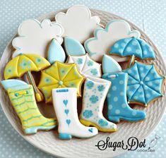 Galletas de azúcar Dot: Partido decoración de galletas - Abril el año 2016