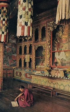 Monastery - Guchiandra - Tibet