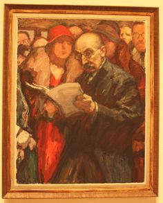 Self Portrait, Max Lieberman, 1911, Tel Aviv Museum of Art