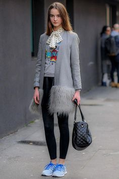 Street style Milan Fashion Week otono invierno 2014  casualfashion2017 2caf2688338