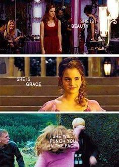Dont' mess with Hermione Granger.