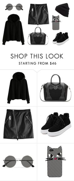 """""""Untitled #17"""" by isabelle-henriksson on Polyvore featuring Givenchy, Dsquared2, Yves Saint Laurent, Lulu Guinness and BP."""
