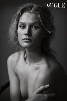 Fashion pictures or video of Nadja Auermann, Toni Garrn & others: Vogue Germany, June (NSFW); in the fashion photography channel 'Photo Shoots'. Nadja Auermann, Toni Garrn, Peter Lindbergh, Foto Portrait, Female Portrait, Nude Portrait, Beauty Portrait, White Photography, Portrait Photography