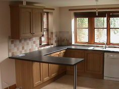 Modern Kitchens, Breakfast Bars, Bar Ideas, Kitchen Ideas, Kitchen Cabinets, Home Decor, Decoration Home, Room Decor, Contemporary Kitchens