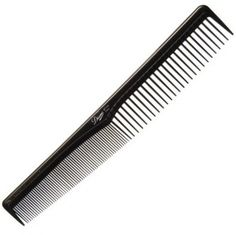 """Diane Ionic Marcelling Comb Black - 7"""" #D7142 $1.79  Visit www.BarberSalon.com One stop shopping for Professional Barber Supplies, Salon Supplies, Hair & Wigs, Professional Product. GUARANTEE LOW PRICES!!! #barbersupply #barbersupplies #salonsupply #salonsupplies #beautysupply #beautysupplies #barber #salon #hair #wig #deals #sales #diane #ionic #marcelling #comb #black #d7142"""