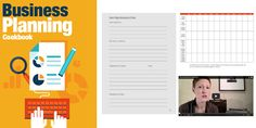 Fantastic guide on how to create a business plan. The 75-page Business Planning Cookbook includes multiple worksheets and over a dozen helpful videos. Available for instant download.