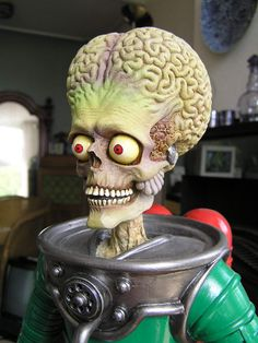 Mars Attacks - PUMPKIN CARVING IDEA