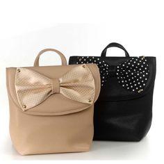 σακιδια πλατης - BACK PACKS-Love bows-polka dot- summer feminine preppy trends fashion