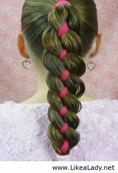 Princess hairstyle for girls