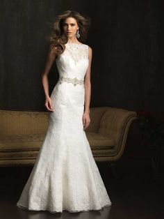 Allure Wedding Dress 9066